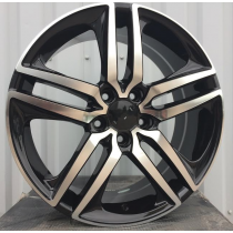 R Line HO5333 black polished 18x8 5x114,3