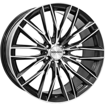 Monaco GP2 anthracite polished 18x8