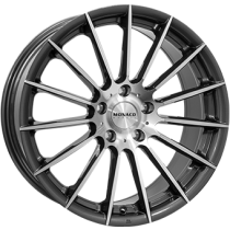 Monaco formula anthracite polished 19x8,5