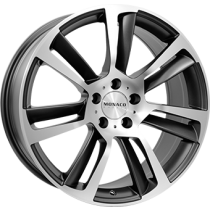 Monaco GP3 anthracite polished 18x8,5