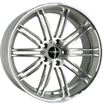 Monaco Chicane 19x9,5 hyper silver polished lip