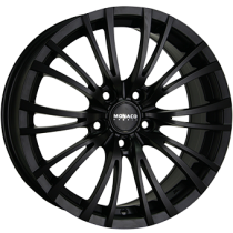 Monaco Hairpin 18x8 matt black 5 holes