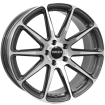 Monaco Pole Position 19x8,5 gunmetal polished