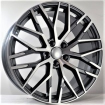 4Racing A026 grey polished 20x9 5/112 ET30 66,6
