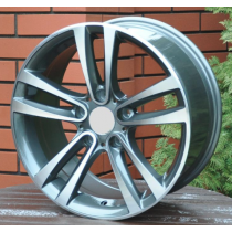 Racing Line BA5035 grey polished 17x8 5x120