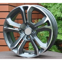 R Line CIA5108 grey polished 16x6 4x108 ET22 65,1