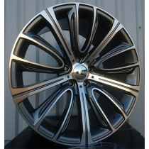 R Line A5241F07 anthracite polished 20x8.5 5x120 ET25 72.6