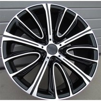R Line A5241R95 black polished 20x10 5x120 ET40 72.6