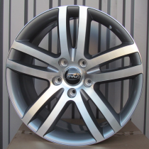 R Line A551 anthracite polished 20x9 5x130 ET60 71,56