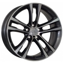 WSP Italy Achille 19x9 anthracite polished