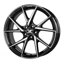 Alutec ADX.01 18x8,5 black polished