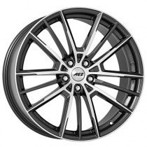 AEZ Kaiman dark 20x8 black polished