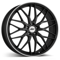 AEZ Crest dark 20x9 gunmetal matt polished lip