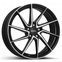 Dotz Spa dark 18x8 black polished