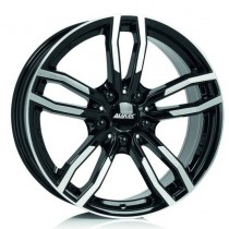 Alutec Drive 17x8 black polished