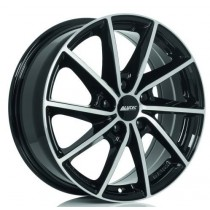 Alutec Singa 16x6 black polished