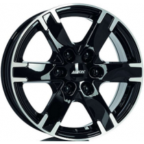 Alutec Titan 18x8 black polished