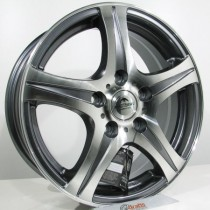 Forzza Amando 15x6 5x112 ET45 73,1 grey polished