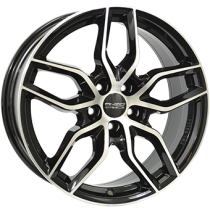 Anzio Spark 17x7,5 black polished