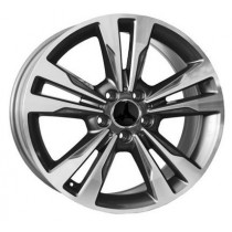 WSP Italy Apollo 17x8 5x112 ET48 66,6 anthracite polished