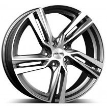 GMP Arcan anthracite diamond 17x7 5x108 ET40 65,1