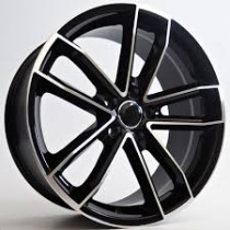 4Racing Argus 19x8,5 5x112 ET42 66,6 black polished