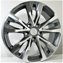 4Racing Artego 17x7 5x114,3 ET45 67,1 anthracite polished
