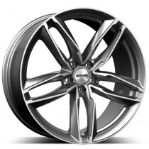 GMP Atom Anthracite Diamond 17x7.5 5x112