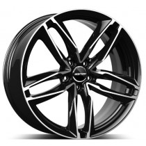 GMP Atom Black Diamond 20x9 5x112