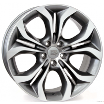 WSP Italy Aura 19x9 5x120 ET48 74,1 anthracite polished