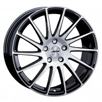 AUTEC TYPE O - OKTANO BLACK POLISHED 18x8