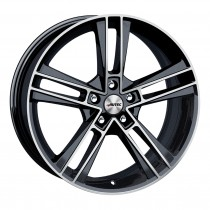 Autec Rias 19x8,5 black polished
