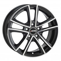 AUTEC TYPE Y - YUCON BLACK POLISHED 18x8