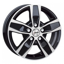 Autec Quantro 17x7 black polished