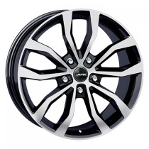 Autec Uteca 18x8 black polished
