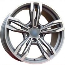 4Racing B008 grey polished 20x8,5 5/120 ET33 72,6