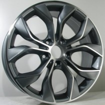 4Racing B019 19x8,5 antracite polished