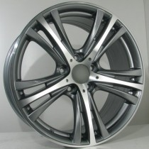 4Racing B023 18x8 antracite polished