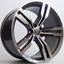"4Racing B031 1antracite polished 19"" 5x112 BK5327"