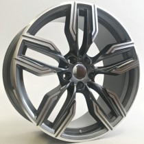 "4Racing B032 grey polished  20"" 5x112 BK5181"