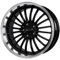 Brock B24 GP 19x8,5 black polished