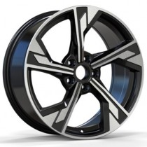 R Line ABK5419 19x8,5 5x112 ET32 66,6 black polished
