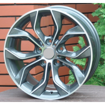 R Line BA5226 grey polished 17x8 5x120 ET20 74,1
