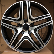 R Line MBK206 black polished 22x10 5x112 ET46 66,6