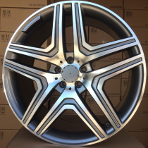 R Line MBK206 anthracite polished 22x10 5x112 ET46 66,5