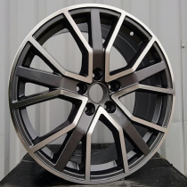 R Line ABK5131 anthracite polished 22x9,5 5x112 ET31 66,45
