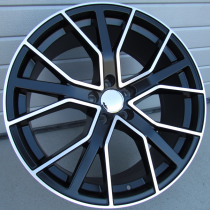 R Line ABK5131 black polished 22x9,5 5x112 ET31 66,45