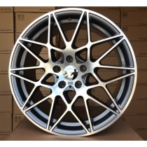 "4Racing B029 grey polished 19"" 5x120 72,6"