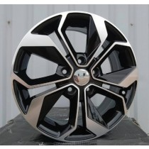 R Line RBK5168 black polished 17x7 5x114,3 ET45 66,1