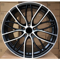R Line BBK796 black polished 20x9,5 5x120 ET35 72,6